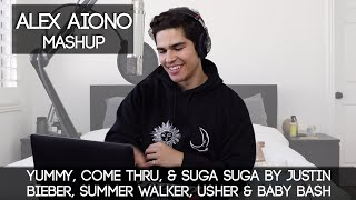 Yummy, Come Thru, & Suga Suga by Justin Bieber, Summer Walker, Usher & Baby Bash | Alex Aiono Mashup