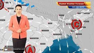 Weather Forecast Jan 5: Rain in Delhi, North India; Cold Wave conditions to abate Central India screenshot 5
