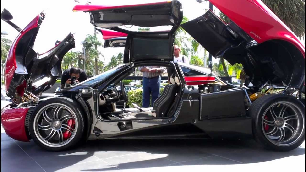New Pagani Huayra Hp Supercar In Miami Youtube