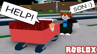 TROLLING PEOPLE AS A BACON HEAD IN ROBLOX! (ADOPT AND RAISE A CUTE KID)