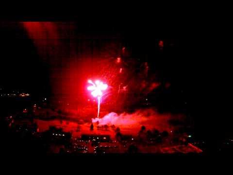 Hurley, Wisconsin Fireworks 2015