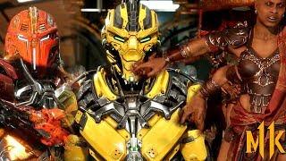 *NEW* MK11 trailer confirms CYRAX + SEKTOR! + first look at SHEEVA! - MORTAL KOMBAT 11