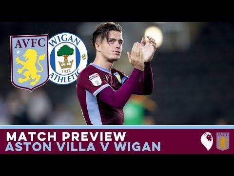 MATCH PREVIEW | Aston Villa v Wigan Athletic