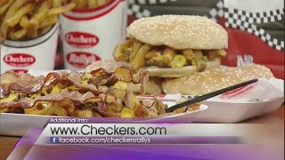 Checker's celebrates National French Fry Day on Valley View Live!