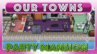 Sims Freeplay - Party Mansion (original House Design)