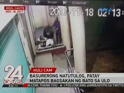 24 Oras: Basurerong natutulog, patay matapos  bagsakan ng bato sa ulo