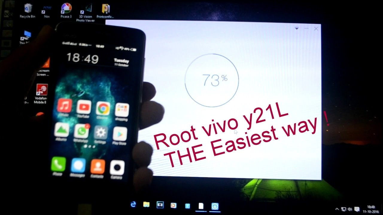 How to Root VIVO Y21L on lollipop 5 0 1 in less than 5 minutes easiest way  !💥