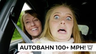 AUTOBAHN! 🚔 Americans First Time Driving on the German Autobahn!
