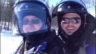 Snowmobile.Rovaniemi.Lapland