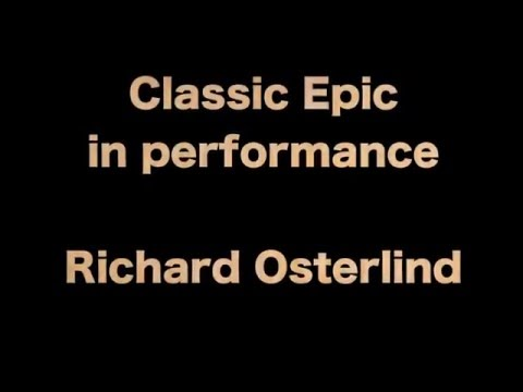 Classic Epic performance - Richard Osterlind