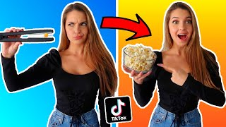 TESTING VIRAL TIK TOK LIFE HACKS!! (CAN'T BELIEVE THIS WORKED)