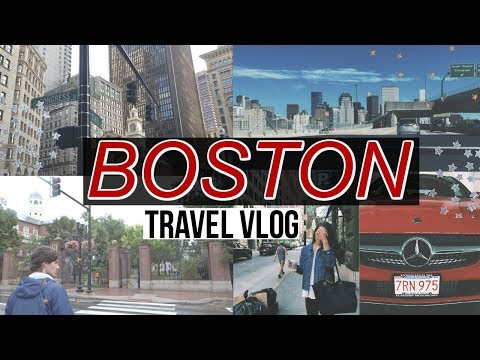 BOSTON TRAVEL VLOG! TOURING HARVARD UNIVERSITY