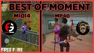 EPIC MOMENT M1014 | MP40 | AWM - FREE FIRE BATTLEGROUNDS