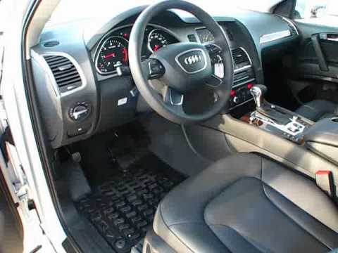 2012 Audi Q7 3 0 Tdi Start Up Exterior Interior Review Youtube
