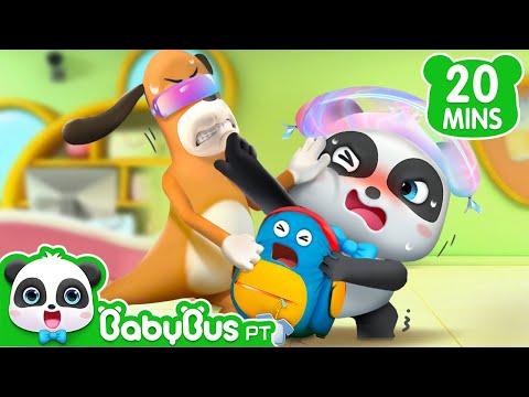 Kiki Não Consegue Pegar Sua Mochilinha | Kiki E Seus Amigos | Desenhos Animados | BabyBus Português