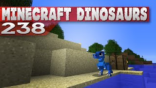 Minecraft Dinosaurs! || 238 || Blue raptor!