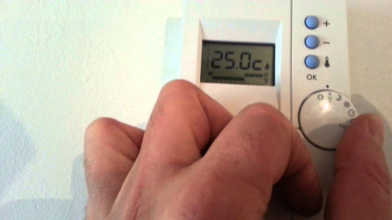 Nouveau Termostato Tutorial - YouTube OT-13