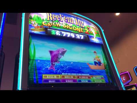 Reel em in Winner! San Manuel CASINO GAME