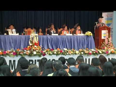 Keynote Address at the Open University Mauritius