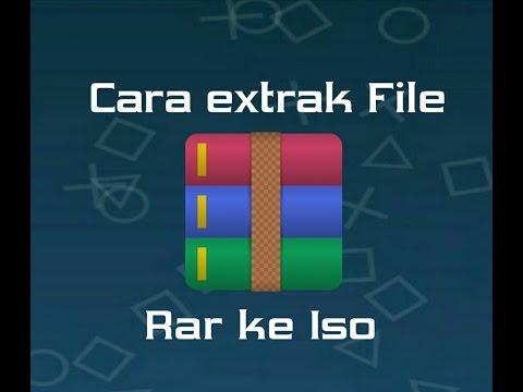 Tutorial Cara Meng Ekstrak File Rar Ke Iso Tutorial 1 Youtube