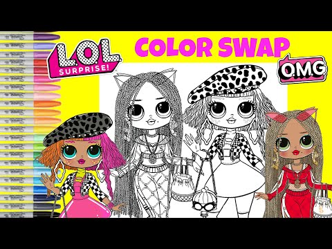 lol-surprise-o.m.g-dolls-coloring-book-color-swap-neonlicious-and-swag-lol-surprise-makeover