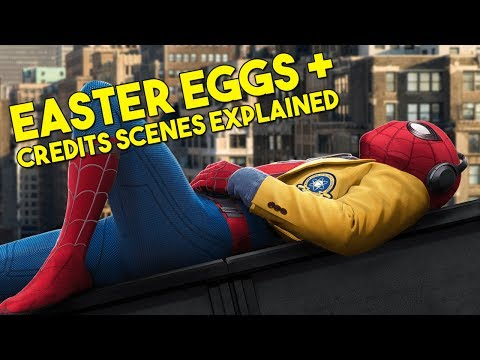 SPIDER-MAN HOMECOMING Easter Eggs + Post Credits Scenes Explained