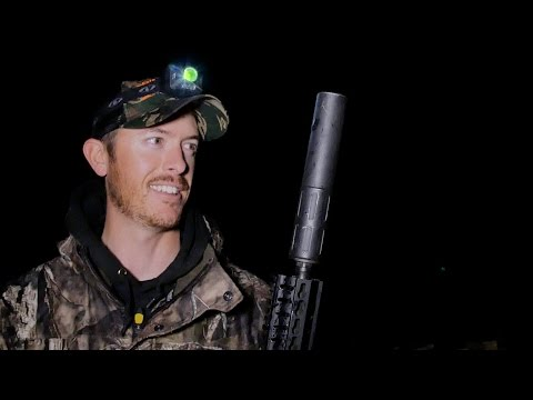 Hunting Wild Hogs With Thermal Suppressor Tactical Guns