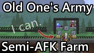 Terraria Semi-AFK Old One's Army Event Farm