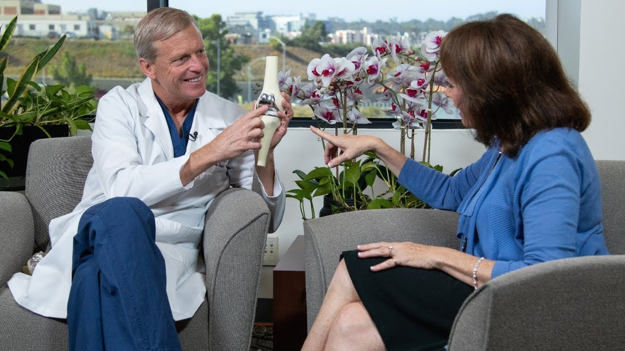 San Diego Health: Treating Knee Pain With Knee Replacement Surgery #Orthopedicsurgery