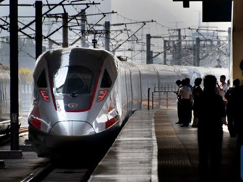 World's fastest bullet train service: China Fuxing trains at speed 350 km/h