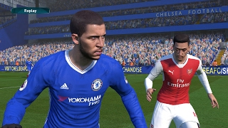 Chelsea vs Arsenal | The London derby Full Match | PES 2017 Gameplay