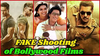 Fake Shooting of Big Bollywood Films  || You Never Know !!