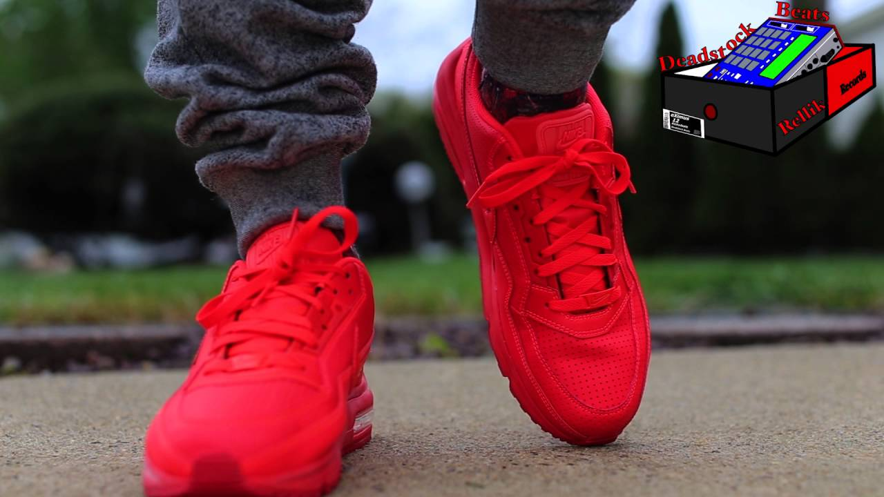 nike air max ltd all red