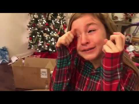 Dana McKenzie - Parents Surprise Children with Puppy for Christmas