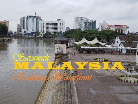 Kuching Waterfront Sarawak Malaysia Borneo Travel 2020