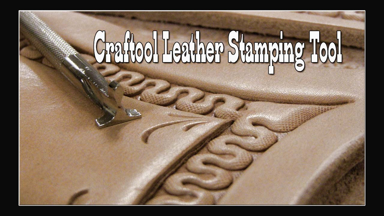 Craftool Leather Stamping Tool D447 Youtube