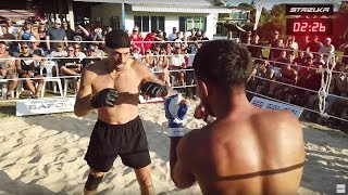 OLD GANGSTER vs MMA FIGHTER !!! Cool Fight !!