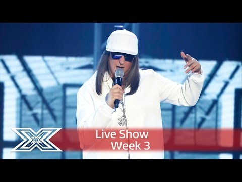 Honey G shuts it down with Ice, Ice Baby! | Live Shows Week 3 | The X Factor UK 2016