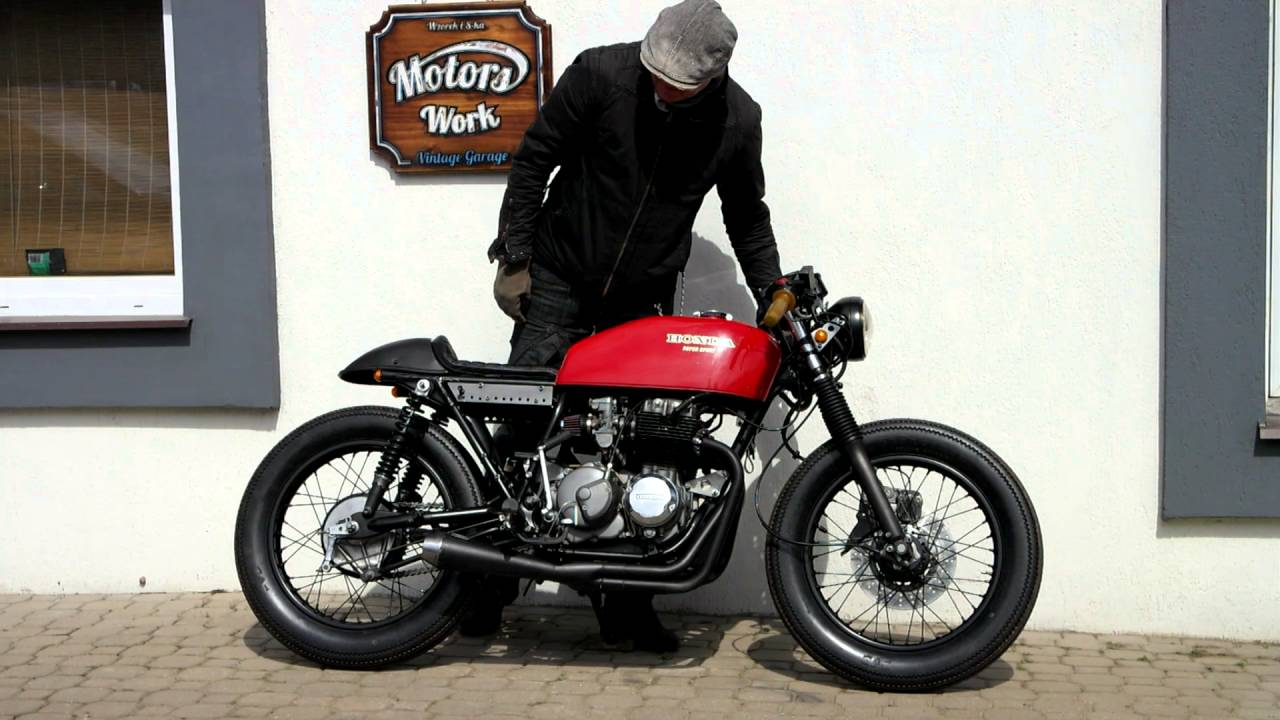 cafe racer honda cb 400 four super sport rebuild in. Black Bedroom Furniture Sets. Home Design Ideas