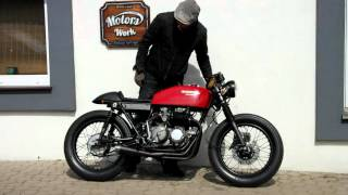 Cafe Racer Honda cb 400 four super sport  rebuild in Vintage Garage Motors Work,
