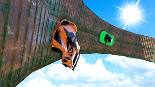 IMPOSSIBLE RACE WITH THE FASTEST CAR IN THE WORLD! (GTA 5 Funny Moments)