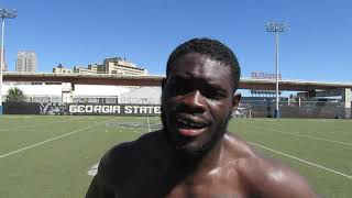 Fighting Peaches: Georgia State football Penny Hart interview 9.18.18 #sportsinquirer #gsupanthers