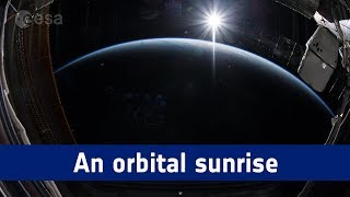 Horizons mission time-lapse – an orbital sunrise