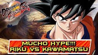 UN COMBATE MUY ESPERADO!! RIKU vs KAWAMATSU!! DRAGON BALL FIGHTERZ: ONLINE