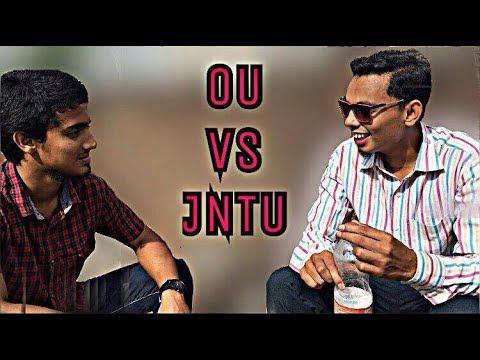 OU VS JNTU || Hyderabadi comedy