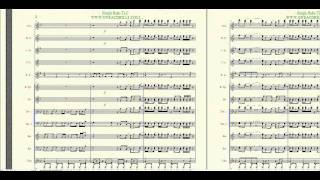"""""""Sleigh Ride"""" TLC-Arranged By: Brandon G. Mitchell For Marching/Concert Band"""