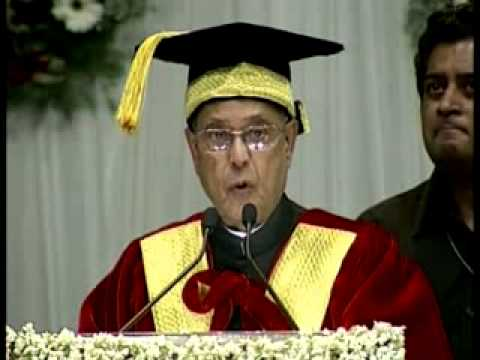 University has to be a temple of learning: President (Part 1)