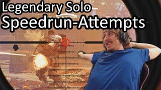 Speedrun: Legendary Solo!? District Union Arena (actually doable)