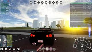 ***NEW*** SECRET FEATURE FOR NISSAN SKYLINE IN ROBLOX VEHICLE SIMULATOR!