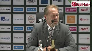1878 TV | Pressekonferenz 25.10.2019 Augsburg - Schwenningen 3:2